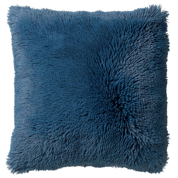 Dutch Decor Kussenhoes Fluffy 45x45 cm Provincial Blue
