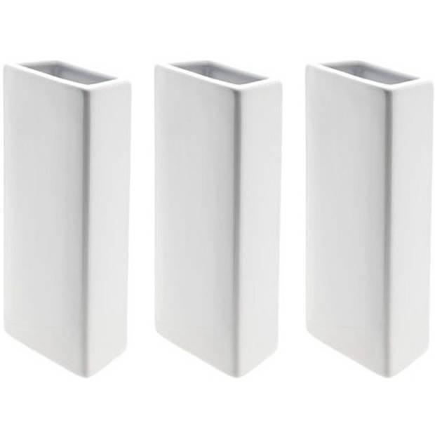 3x Radiator luchtbevochtigers wit 21 cm - Verdamper