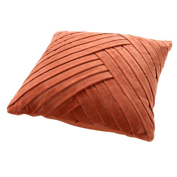 Dutch Decor Sierkussen Gidi 45x45 cm Potters Clay