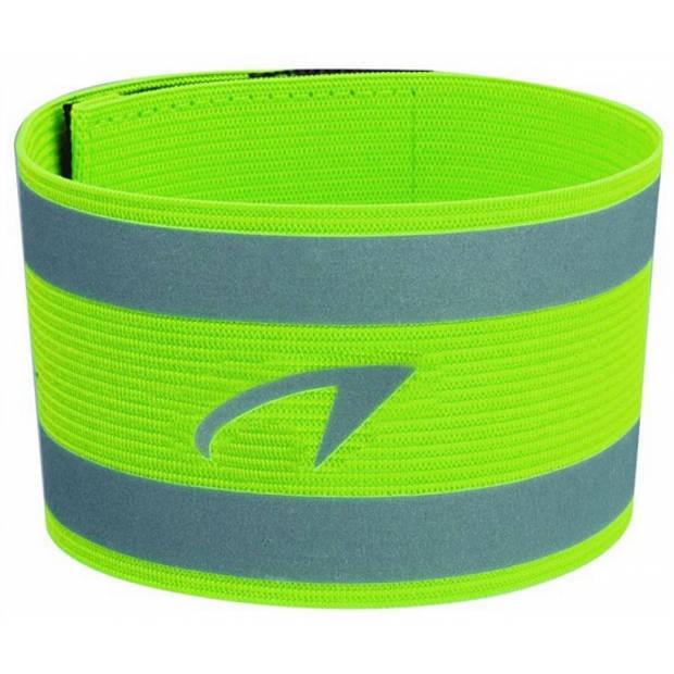 2x Reflecterende sport armbanden - lichtgevende sport banden