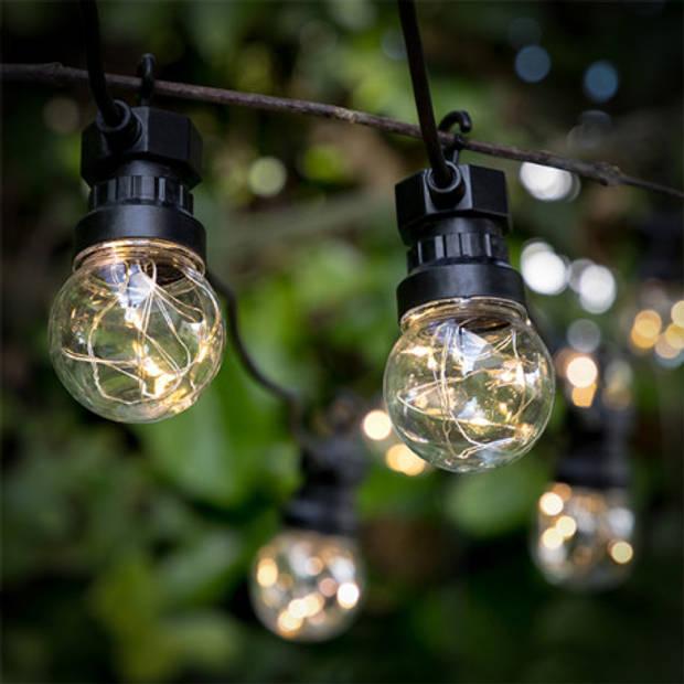 Feestverlichting 10 Bulbs 50LED 7,5 meter