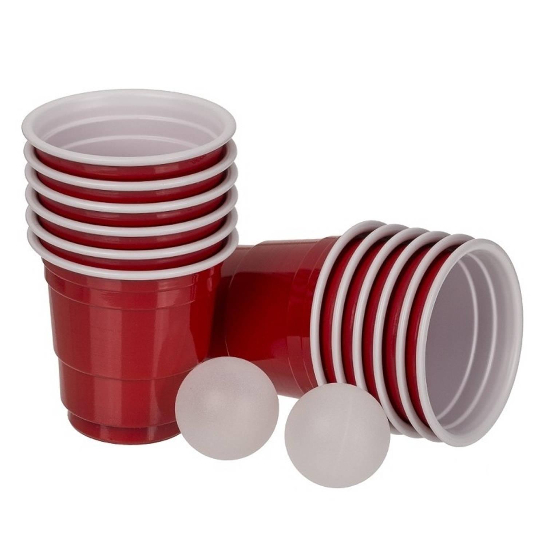 Mini Beer Pong Drankspel-drinkspel 14 Delig Drankspellen-studentenspellen Bier Pong Herbruikbare Bek