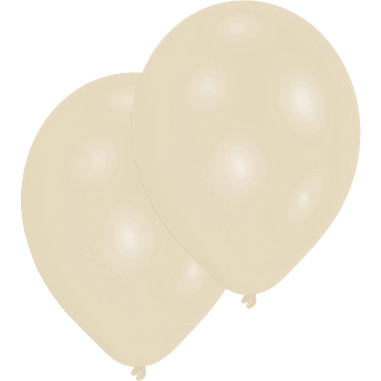Korting Amscan Ballonnen 27,5 Cm Vanilla Cream 10 Stuks