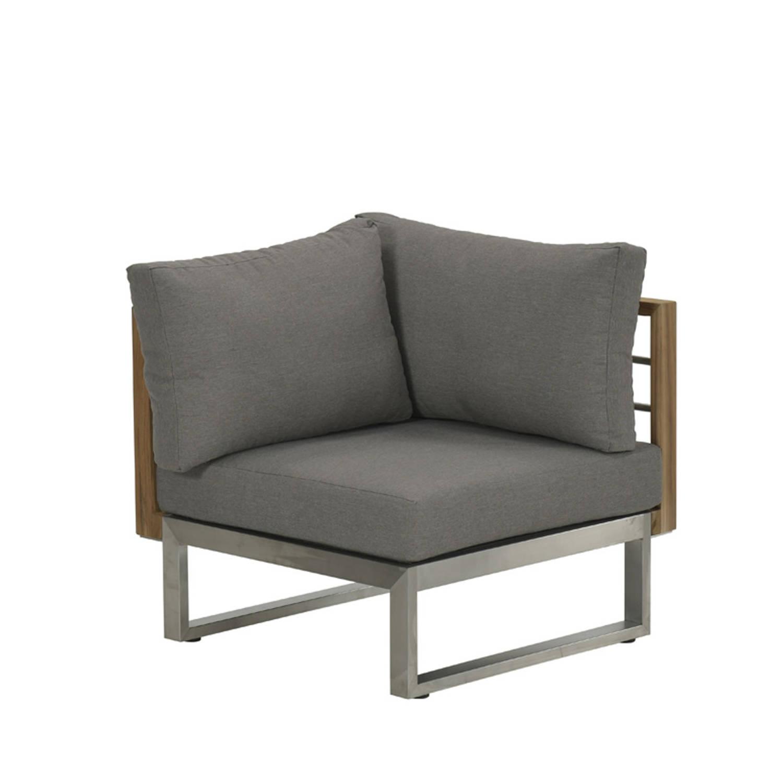 Garden Impressions Covada Lounge Hoekelement - Warm Grey