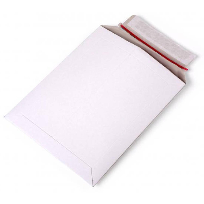 Korting 50x Witte Kartonnen Verzendenveloppen A4 Enveloppen Verzendmateriaal verpakkingen