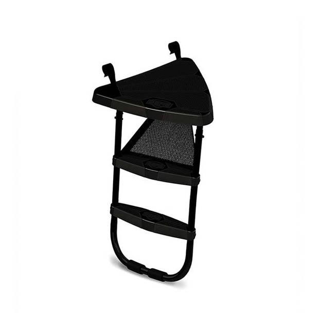 Trampoline platform met ladder - BERG - maat L