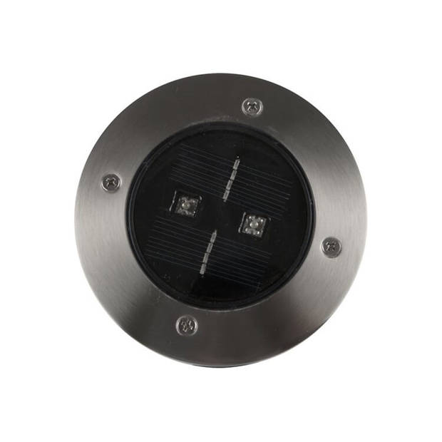 Ranex LED Solar Grondspot Tuinverlichting, Bewegingsmelder, Waterdicht IP44, Warm Wit