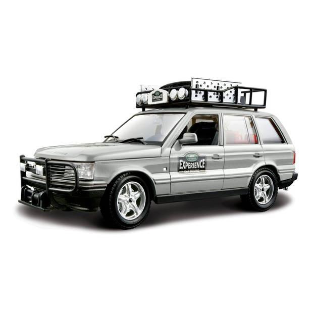 Bburago schaalmodel Range Rover Experience 1:24 zilver