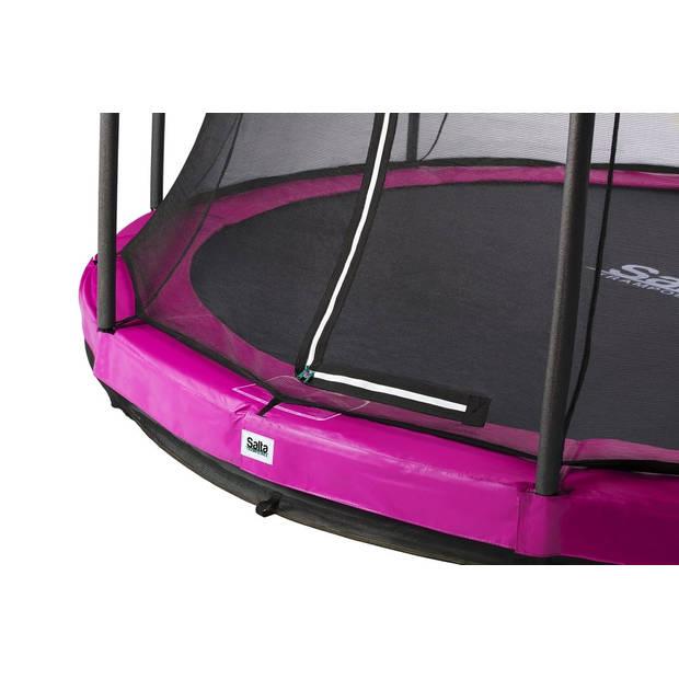 Trampoline - Salta Comfort Edition Ground - 183 cm - Roze