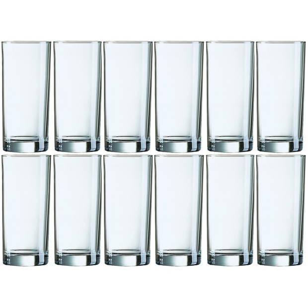 12x Longdrinkglazen 310 ml - 31 cl - Longdrink glazen - Water/sapglazen - Longdrink glazen van glas