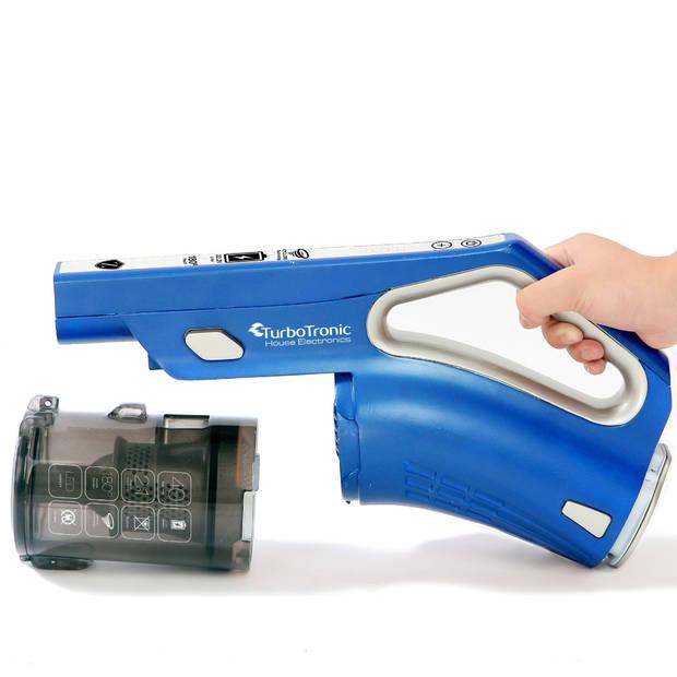 TurboTronic VS180 draadloze steelstofzuiger met accessoires - Blauw