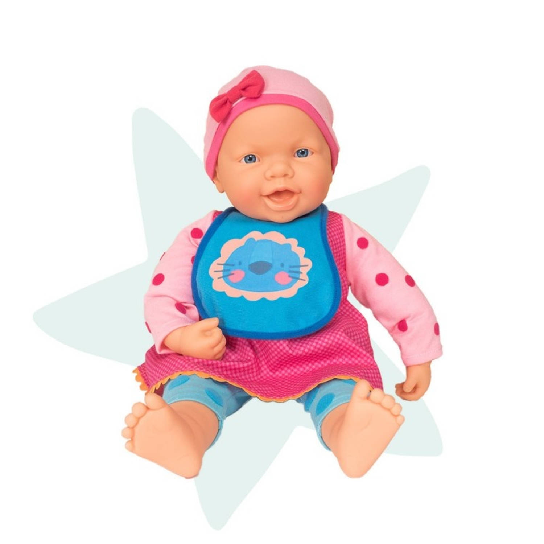 Falca interactieve babypop 48 cm multicolor