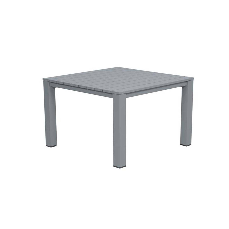 Garden Impressions Romero lounge dining tafel 100x100xH68 cm grijs