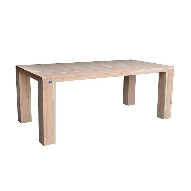 Wood4you - Tuintafel Chicago Douglas 150lx78hx90d Cm