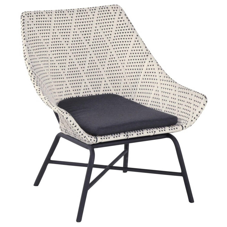 Hartman Delphine Lounge tuinstoel grijs