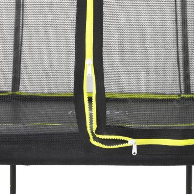 Trampoline - EXIT Silhouette - 153 x 214 cm - Zwart