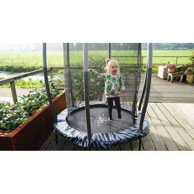 Trampoline - EXIT Tiggy Junior - 140 cm - Grijs
