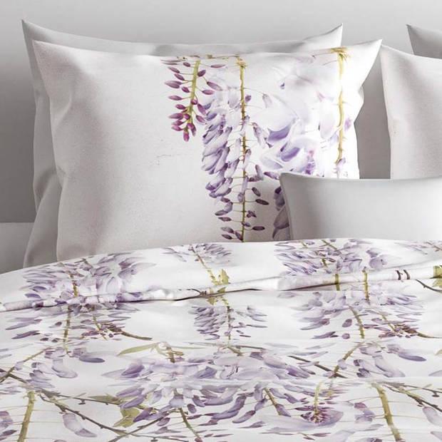 Zo!Home Fazio dekbedovertrek - Lits-jumeaux (260x200/220 cm + 2 slopen) - Katoen - Lilac