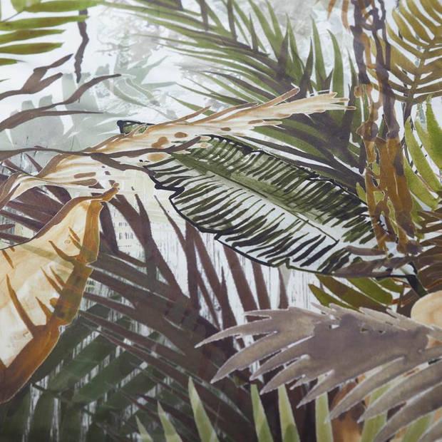 Essenza Jane dekbedovertrek - Lits-jumeaux (240x200/220 cm + 2 slopen) - Percal katoen - Loden green
