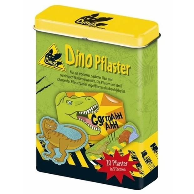 Dinosaurus pleisters 20 stuks