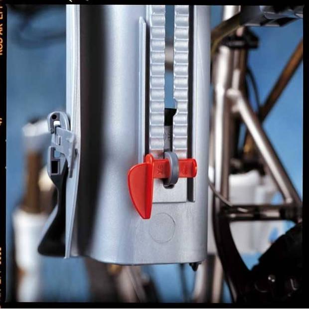 OK Baby fietszitje 10+ achter framebevestiging zwart/grijs