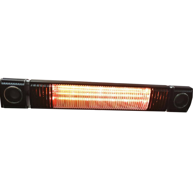 Fonteyn Low Glow Heater 2000w Met Muziek