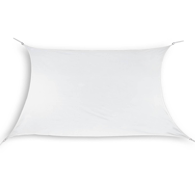 Hanse® rechthoekig waterdoorlatend schaduwdoek 3x4 m Wit