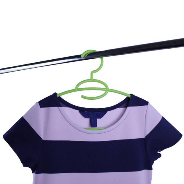Kinderkledinghangers - set 10 stuks