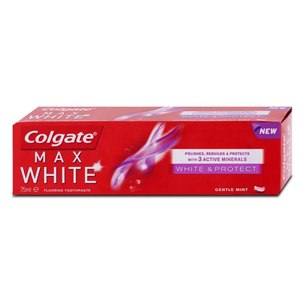 Colgate Max White - White & Protect Tandpasta