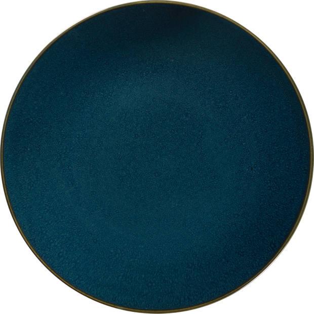 Blokker dinerbord Moskou 27 cm blauw