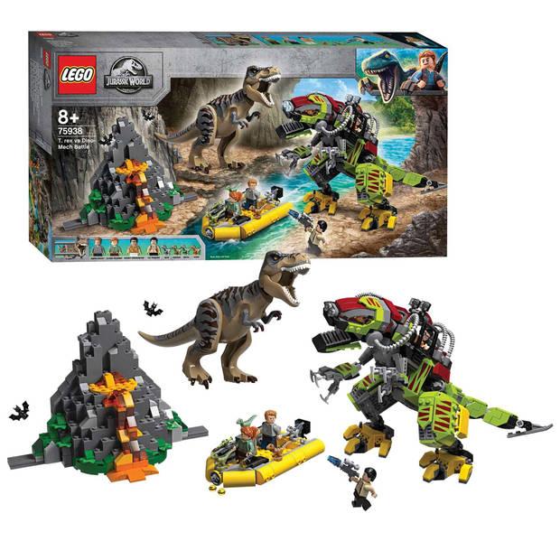Jurassic World - T. Rex vs. Dinomecha gevecht