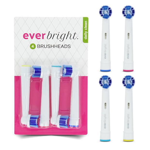 Everbright DailyClean opzetborstels - 4 stuks