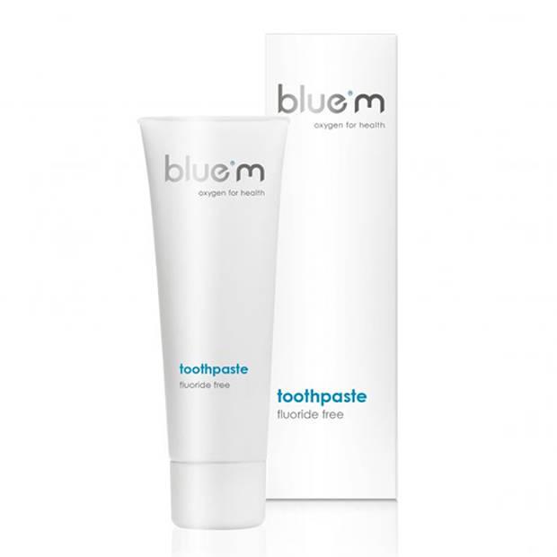 BlueM Tandpasta 75 ml - Zonder Fluoride