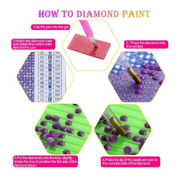 Diamond Painting - Volwassenen - 30x40 cm