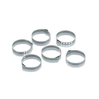 Korting Rollade Ring, Set Van 6 Rvs Kela Pincho