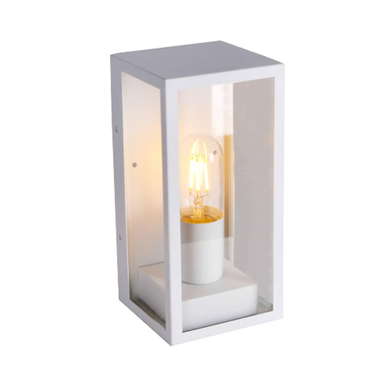 V-tac Vt-837 Wandlamp - 1 Lichts - Aluminium - Wit - Ip44