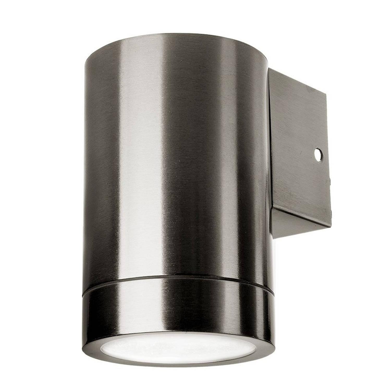 V-tac Vt-7641 Wandlamp Buiten - Gu10 - Rvs - Ip44