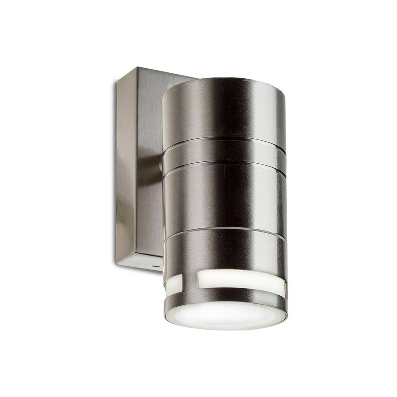 V-tac Vt-7631 Wandlamp Buiten - Gu10 - Rvs - Ip44