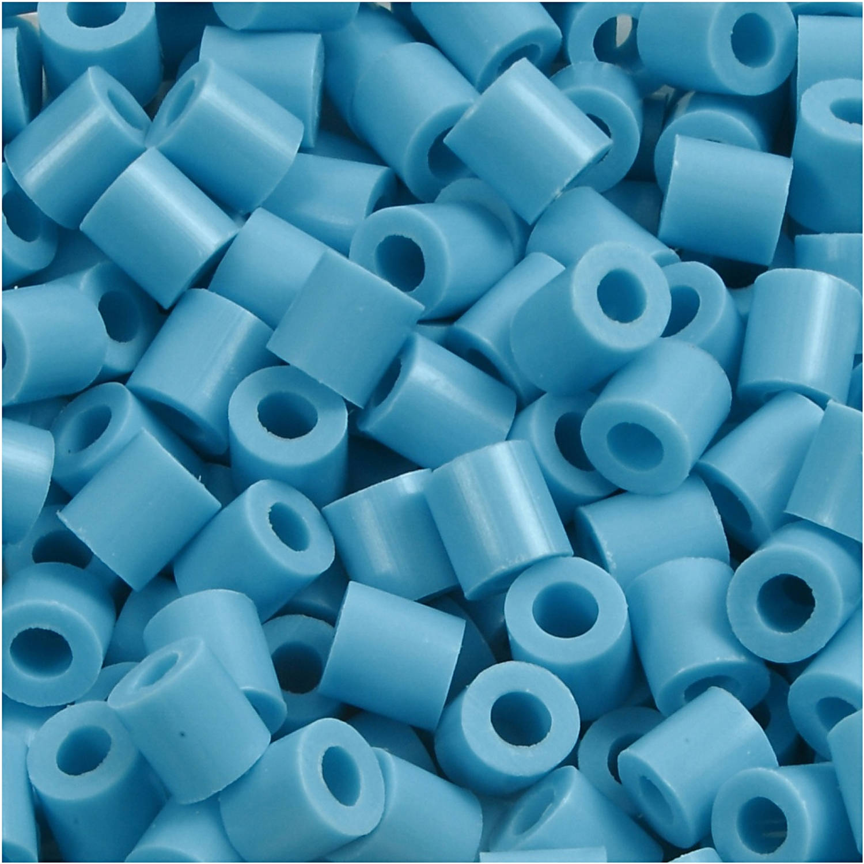 Korting Creotime Strijkkralen Turquoise 1100 Stuks