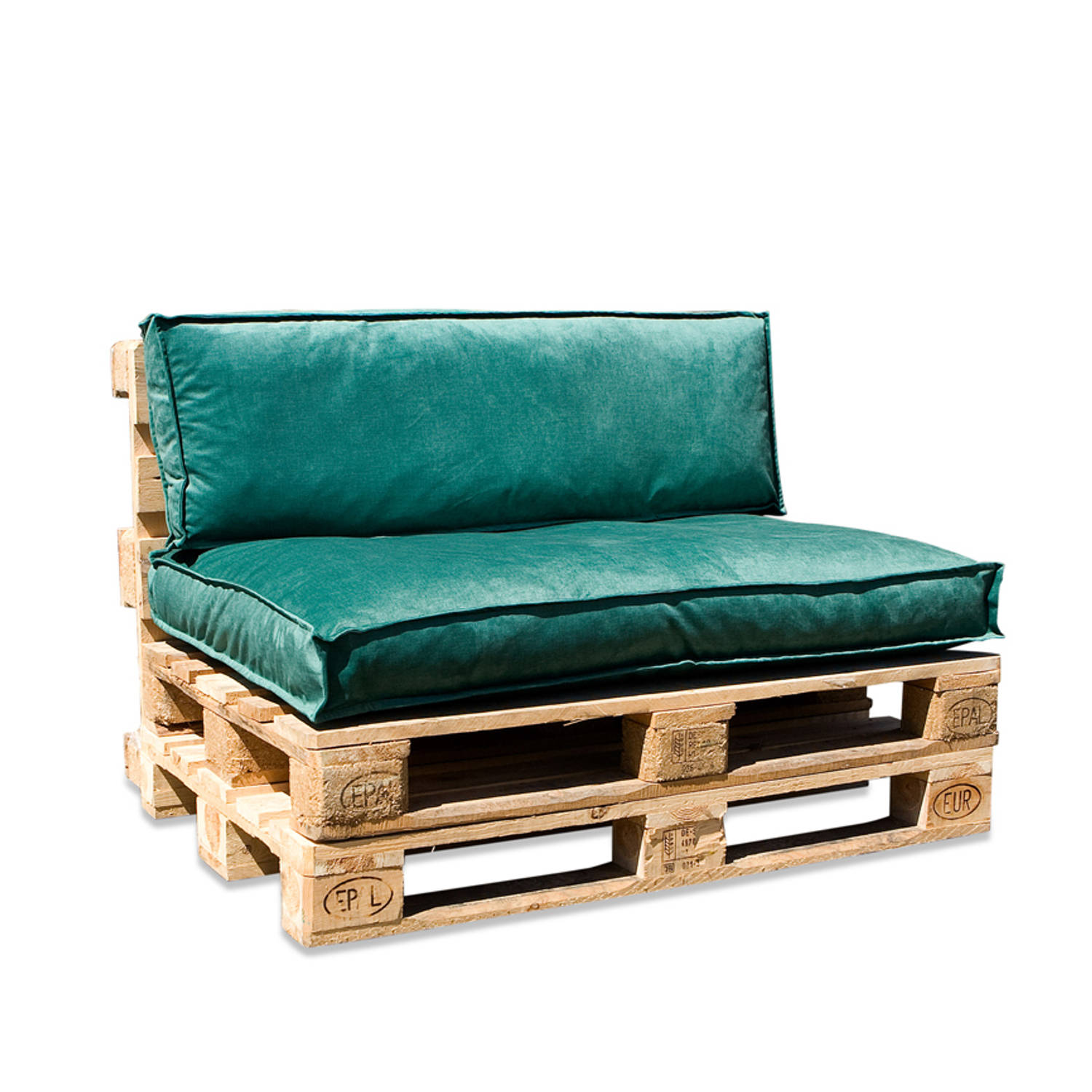 In The Mood Collection In The Mood Palletkussenset Royal Velvet Basilicum