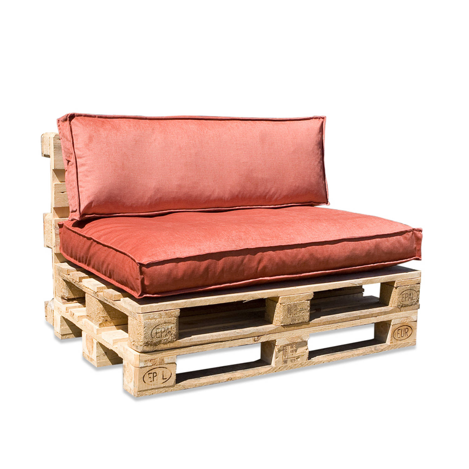 In The Mood Collection In The Mood Palletkussenset Royal Velvet Peach