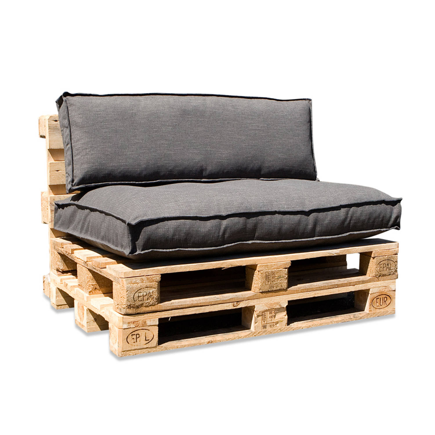 In The Mood Collection In The Mood Palletkussenset Salvador Antraciet