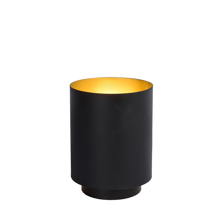 Lucide SUZY Tafellamp E1440W Rond ZwartGoud
