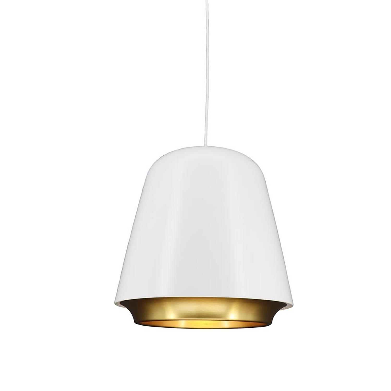 Korting Lamponline Hanglamp Santiago Ø 35 Cm Wit goud