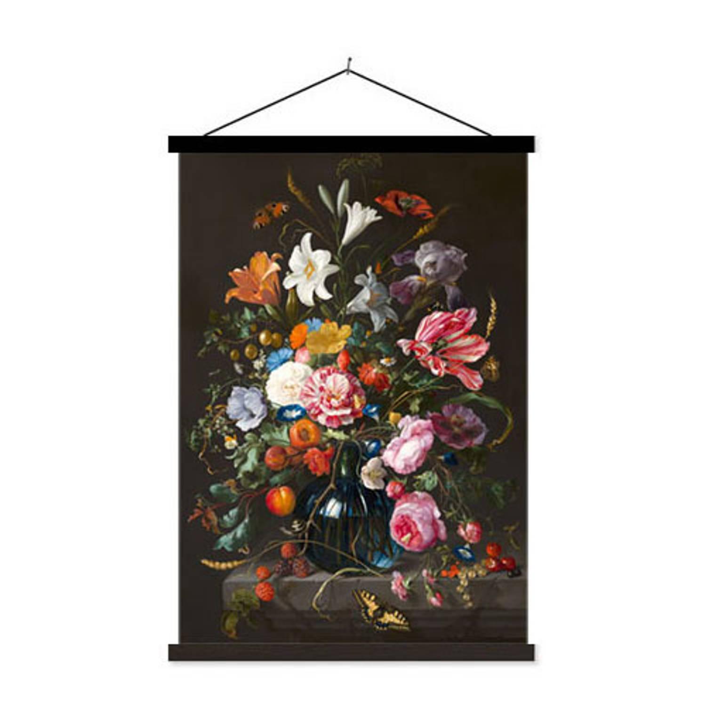Schoolplaat Vase Of Flowers - 60xh90 Cm