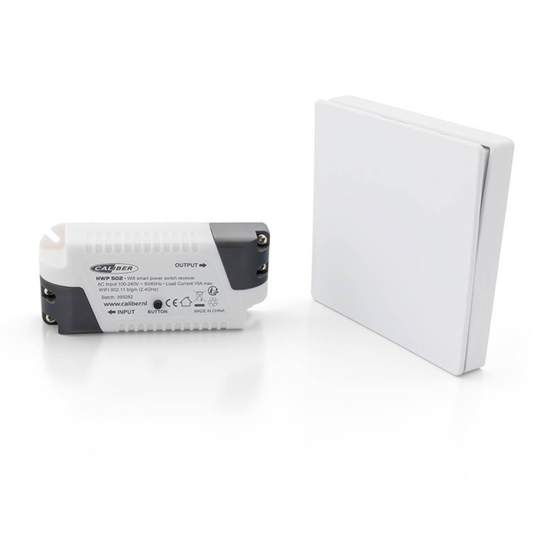 Caliber Audio Technology Caliber Smart Home Starterkit verlichting Bereik max. (in het vrije veld) 1