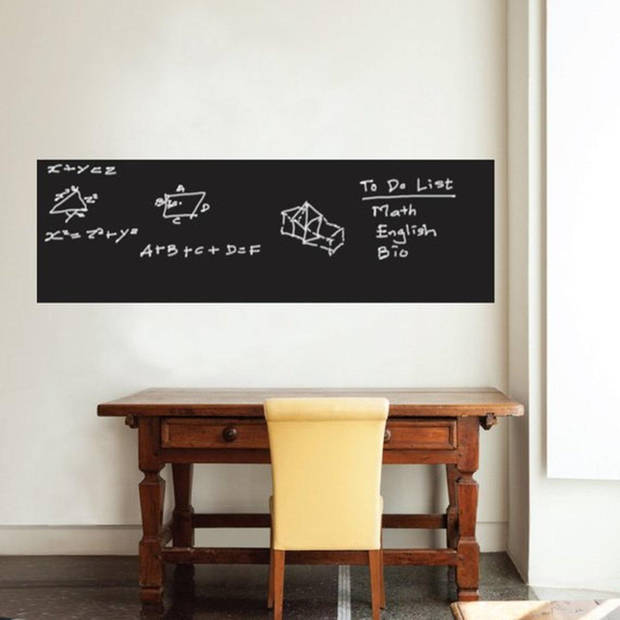 Krijtbord Sticker - Schoolbord Sticker - 45x200cm