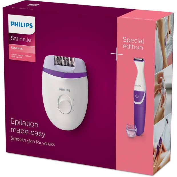 Philips epilator Satinelle Essential BRP505/00 - paars