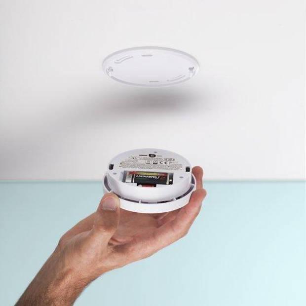 Smartwares RM250 Rookmelder - Inclusief 1 jaar batterij - Testknop - Pauzeknop - 85 dB