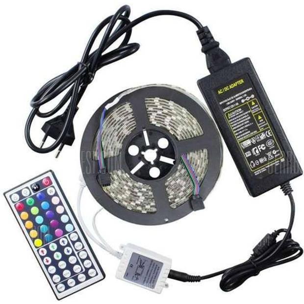 LED strip verlichting - 5 meter - 44 keys RGB
